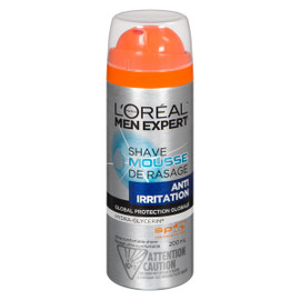 L'Oréal Paris Men Expert Mousse de Rasage Anti Irritation 200 ml