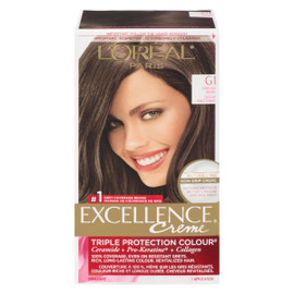 L'Oréal Paris Excellence Creme Triple Protection Colour Permanent G1 Châtain Foncé Cendré