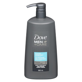 Dove Men+Care Gel Douche Corps + Visage le Propre du Confort 695 ml