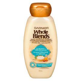 Garnier Whole Blends Shampooing Nutrition Intense Richesse Amande et Argan 370 ml