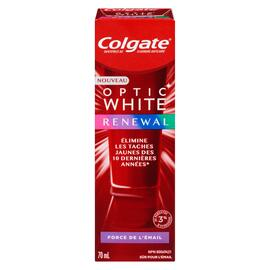 Colgate Optic White Dentifrice au Fluorure Anticarie Renewal 70 ml