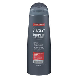 Dove Men+Care Shampooing + Revitalisant Fortifiant Éveil Revigorant 355 ml