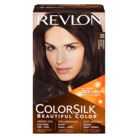 Revlon ColorSilk Beautiful Color 3D Color Technology 20 Brun Noir