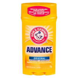 Arm & Hammer Advance Antisudorifique Invisible en Bâton Original 73 g