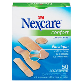 Nexcare Pansements Confort 50 Assortiment