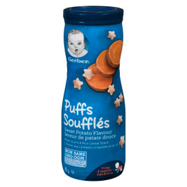Nestle Gerber Collation Cereales Souffles Patate Douce Des 8 MOIS