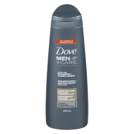 Dove Men +Care Shampooing + Revitalisant Fortifiant Soin Complet 355 ml