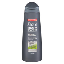 Dove Men+Care Elements Shampooing + Revitalisant Fortifiant Minéraux+Sauge 355 ml