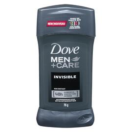 Dove Men+Care Bâton Antisudorifique Invisible 76 g