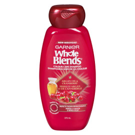 Whole Blends Shampooing Soin de la Couleur Huile d'Argan et de Canneberge 370 ml