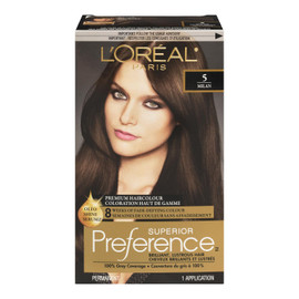 L'Oréal Paris Superior Preference Coloration Haut de Gamme Permanent 5 Milan Brun Moyen