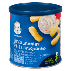 Nestle Gerber Ptits Croquants Collation Mais Trempette Legumes 12 MOIS