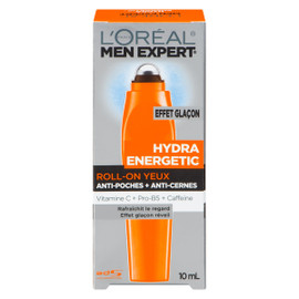 L'Oréal Paris Men Expert Hydra Energetic Roll-On Yeux 10 ml