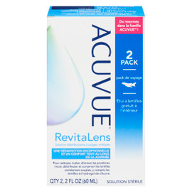Acuvue Solution Desinfectante Usages Multiples VOYAGE