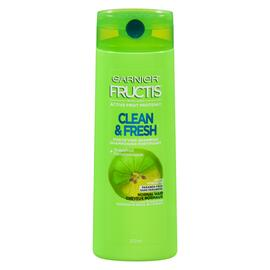 Garnier Fructis Clean & Fresh Shampooing Fortifiant Cheveux Normaux 370 ml
