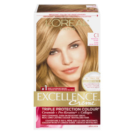 L'Oréal Paris Excellence Creme Triple Protection Colour Permanent C1 Blond Moyen Cendré