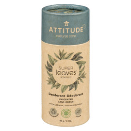 Attitude Super Leaves Deodorant Sans Odeur Hypoallergenique BIODEGRADABLE
