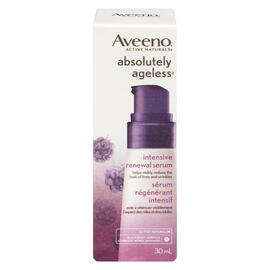 Aveeno Active Naturals Absolutely Ageless Sérum Régénérant Intensif Complexe Mûres Sauvages 30 ml