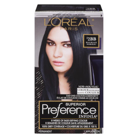 L'Oréal Paris Superior Preference Infinia Ravive Couleur I2BB Noir Bleu