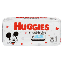 Huggies Snug & Dry Couches 1 4-6 kg 38 Couches