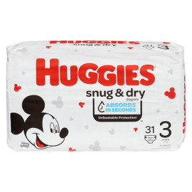 Huggies Snug & Dry Couches 3 7-13 kg 31 Couches