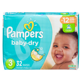 Pampers Baby Dry Couches 3 7-13 kg