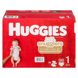 Huggies Little Snugglers Couches 1 Jusqu'à 6 kg 96 Couches