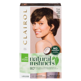 Clairol Natural Instincts 5A Girofle Châtain Moyen Froid