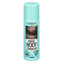 L'Oréal Paris Magic Root Cover Up Spray Correcteur de Racines Instantané Châtain Moyen 57 g