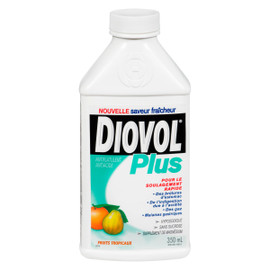 Diovol Plus Antiflatulent Antiacide Fruits Tropicaux 350 ml