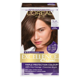 L'Oréal Paris Excellence Creme Triple Protection Colour Permanent 5UA Châtain Moyen Ultra Cendré