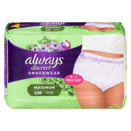 Always Discreet 19 Culottes Coupe Classique Maximale S/M