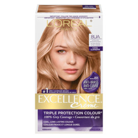 L'Oréal Paris Excellence Creme Triple Protection Colour Permanent 8UA Blond Moyen Ultra Cendré