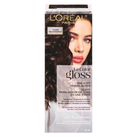 L'Oréal Paris Le Color Gloss Rehausseur de Tons en Une Étape Transparent 118 ml