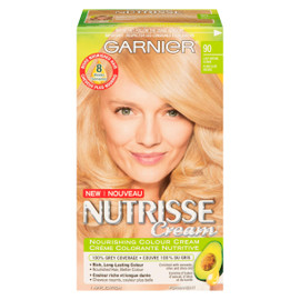 Garnier Nutrisse Cream Crème Colorante Nutritive Permanent 90 Blond Clair Naturel