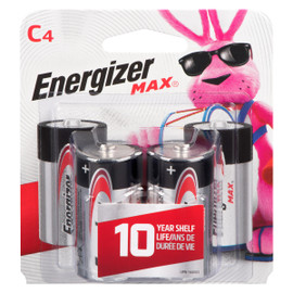 Energizer Max Piles Alcalines C4