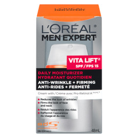 L'Oréal Paris Men Expert Vita Lift FPS 15 Hydratant Quotidien Anti-Rides + Fermeté 48 ml