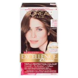 L'Oréal Paris Excellence Creme Triple Protection Colour Permanent 600 Châtain Clair Neutre