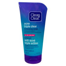 Clean & Clear Anti-Acné Triple Action Gel Exfoliant 141 g