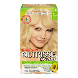 Garnier Nutrisse Cream Crème Colorante Nutritive Permanent 101 Blond Neutre Très Clair
