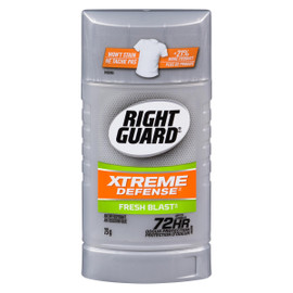 Right Guard Xtreme Defense Antisudorifique Fresh Blast 73 g