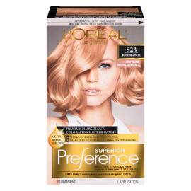 L'Oréal Paris Superior Preference Coloration Haut de Gamme Permanent 823 Blond Rose Moyen
