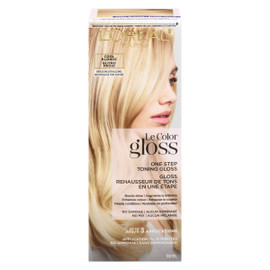 L'Oréal Paris Le Color Gloss Rehausseur de Tons en Une Étape Blond Froid 118 ml