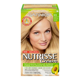 Garnier Nutrisse Cream Crème Colorante Nutritive Permanent 913 Blond Neutre Clair Naturel