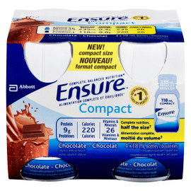 Ensure Compact Chocolat 4 Bouteilles x 118 ml