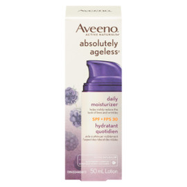 Aveeno Active Naturals Absolutely Ageless Lotion Hydratant Quotidien FPS 30 50 ml