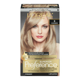 L'Oréal Paris Superior Preference Coloration Haut de Gamme Permanent 8 Californie Blond Moyen