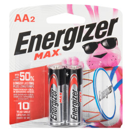 Energizer Max +Powerseal Piles Alcalines AA2
