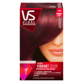 Vidal Sassoon Pro Series London Luxe Ultra Vibrant Color Permanent 4RV Bourgogne Mayfair