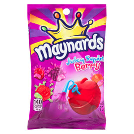Maynards Friandise Juicy Squirts Berry 170 g
